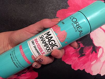 loreal magic shampoo rose tonic